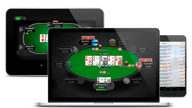 PokerStars mobile apps devices