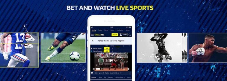 William Hill live in play