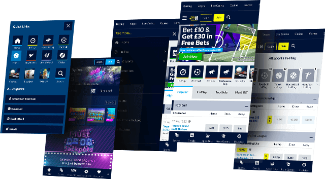 William Hill mobile app devices