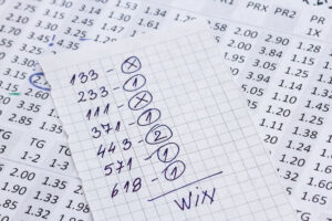 formula showing how to read odds